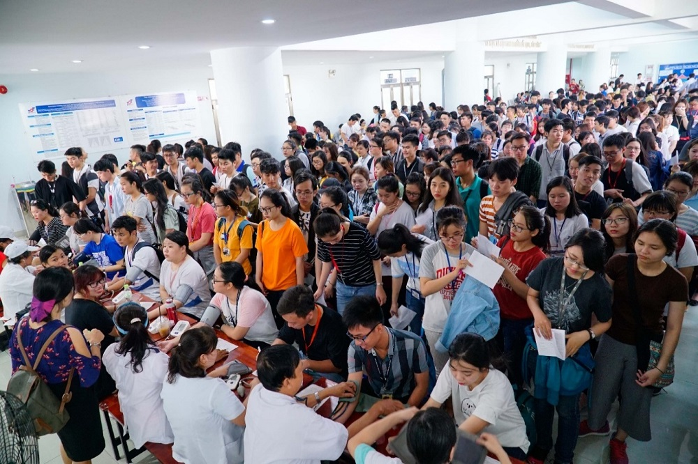 Tuổi trẻ Đại học Tôn Đức Thắng hiến hơn 2.000 đơn vị máu cứu người