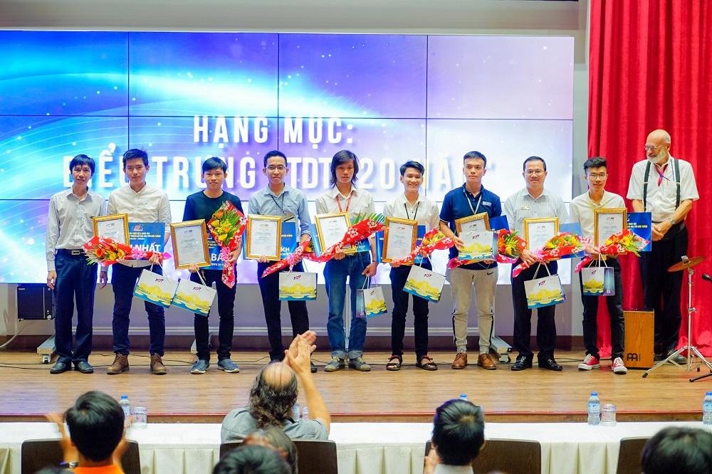 Lễ trao giải Cuộc thi thiết kế & sáng tácChào mừng 20 năm thành lập Đại học Tôn Đức Thắng
