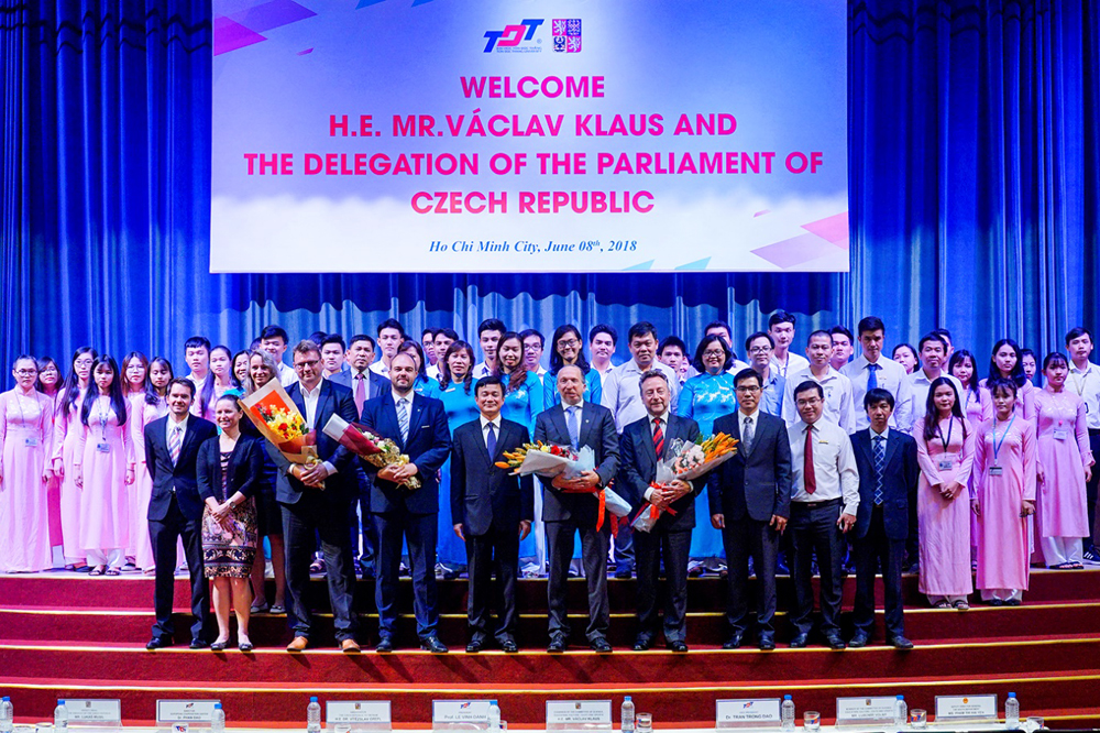The Parliamentary delegation of the Czech Republic visited Ton Duc Thang University