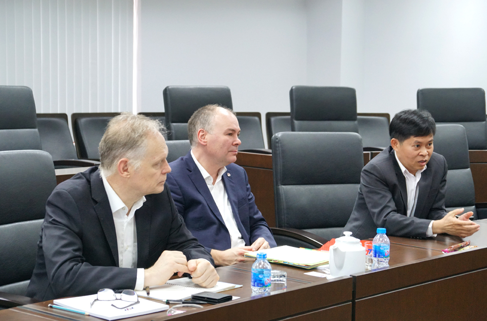 Anhalt University of Applied Sciences (Germany) visited and worked with Ton Duc Thang University