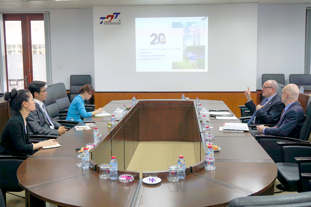 Overview of the meeting between GSU and TDTU