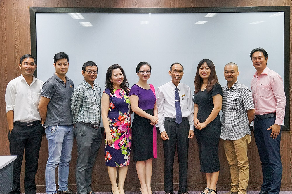 Chapter BNI Ho Chi Minh City visited and worked with Ton Duc Thang University