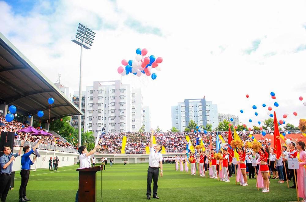 Ngày hội truyền thống kỷ niệm 20 năm thành lập Đại học Tôn Đức Thắng