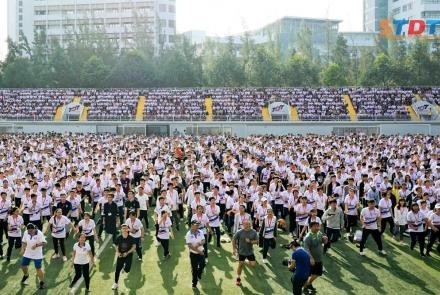 Ton Duc Thang University launched the TDTU Runners club