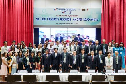 Opening of Natural Products Research Institute Office (NaPRI), Ton Duc Thang University
