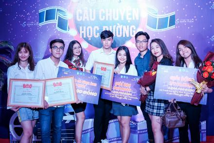School story at the Ho Chi Minh city student film festival