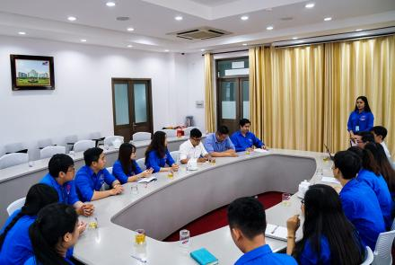 The Consolidation Conference for Youth Union Executive Committee of Ton Duc Thang University