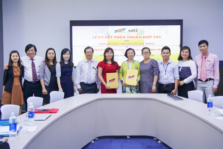 Signing the Memorandum of Understanding with Binh Tien Consumer Goods Producing Company Limited (Biti's)