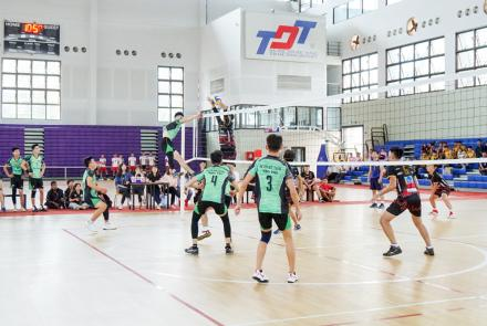 The Opening Ceremony of Ton Duc Thang University (TDTU) Volleyball Cup 2018