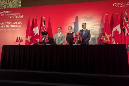 McMaster University signed cooperation agreement with Ton Duc Thang University